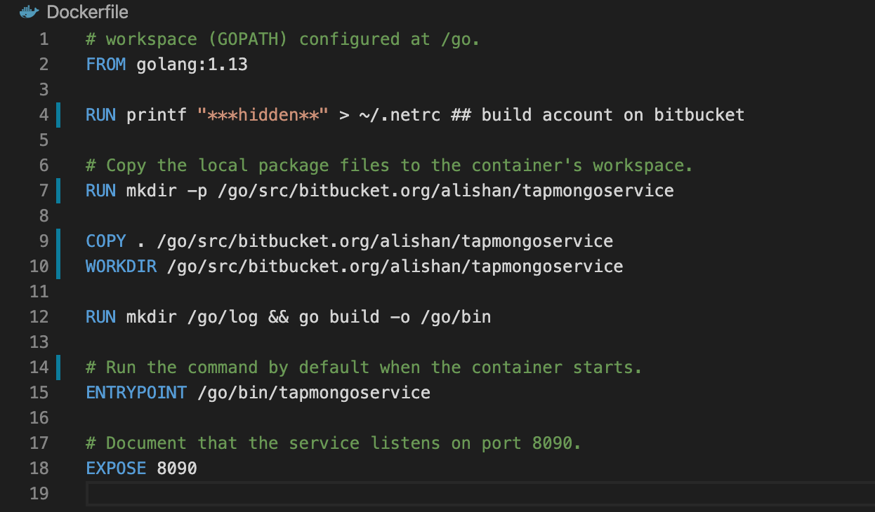 Docker build fails due to cannot load package   Getting Help   Go ...