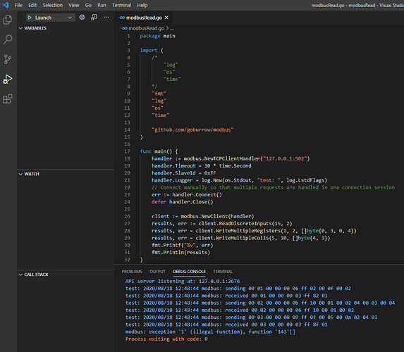 2020-08-18 12_49_45-modbusRead.go - modbusRead - Visual Studio Code