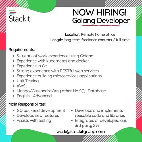 GO developer